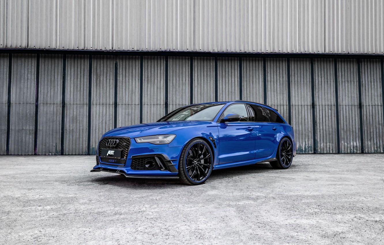 Фото обои Audi, 2018, ABT, RS6, Nogaro Edition, Audi RS6 Nogaro Edition by ABT 2018