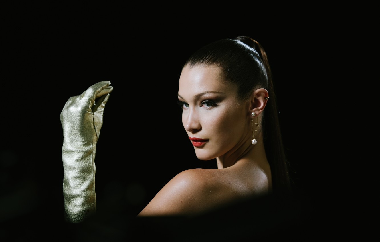 Фото обои модель, портрет, Bella Hadid