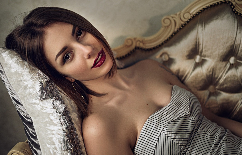 Фото обои Ксения, Sergey Fat, Сергей Жирнов