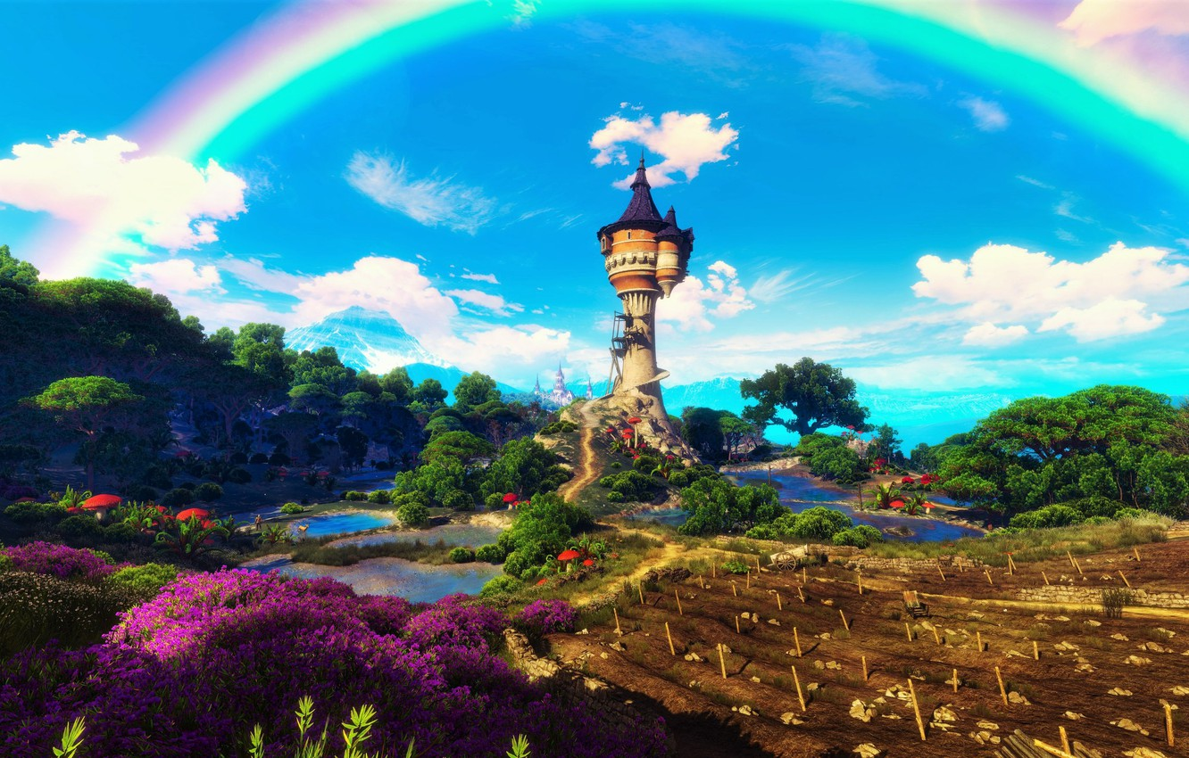 Фото обои Ведьмак, The Witcher 3 Wild Hunt, The Witcher 3: Wild Hunt - Blood and Wine, …