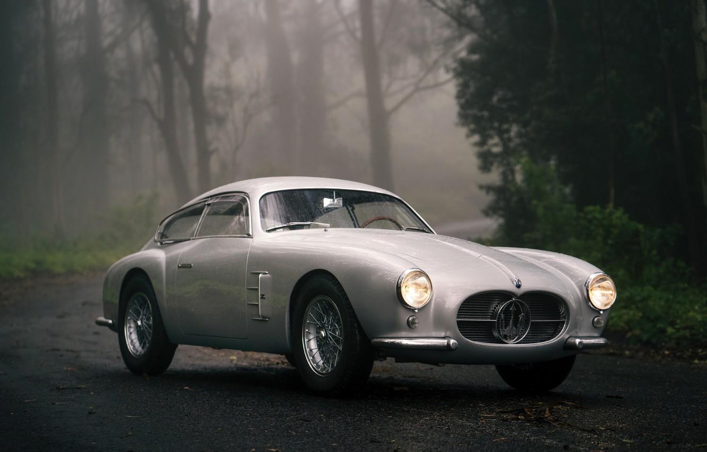 Фото обои Maserati, Classic, Coupe, A6G 2000, Berlinetta Zagato