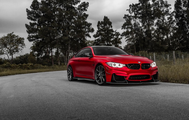 Фото обои BMW, Light, RED, F82, LED
