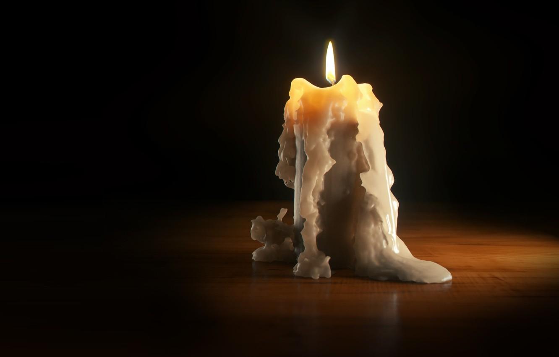 Отливка воском по фотографи Daniel-klepek-candle-3d-art-svecha-vosk-plamia