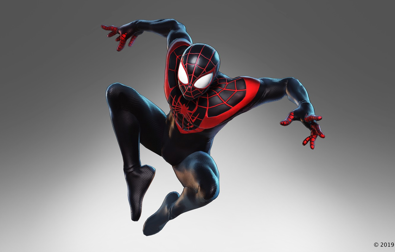 Фото обои Spider-Man, Miles Morales, the black order, marvel ultimate alliance 3