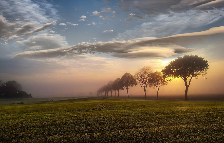 Обои свет, Облака. Природа foto 6