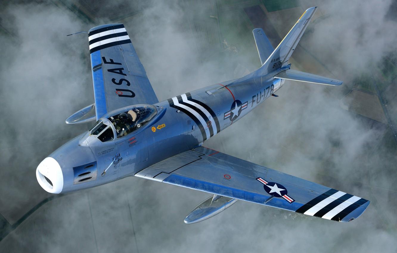 Обои F-86 Sabre, Самолёт. Авиация foto 7