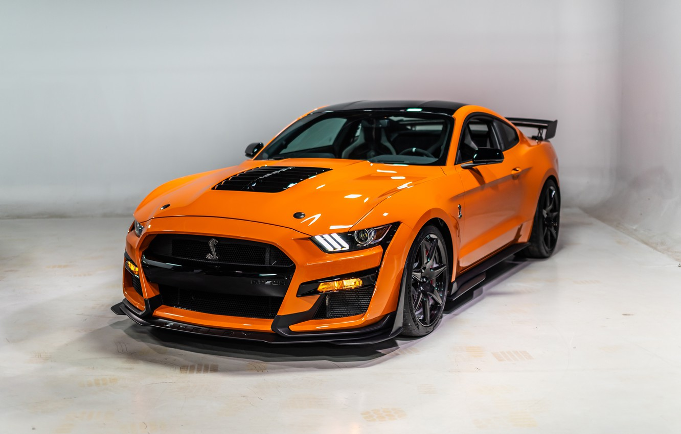 Фото обои Mustang, Ford, Shelby, GT500, 2020
