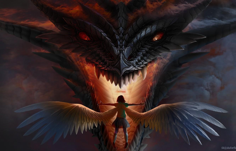 Девочка и её дракон - - Wattpad   850x1332