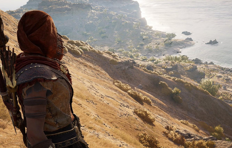 Фото обои Assassins Creed, Creed, Assassins, дикий запад, Assassins Creed Odyssey