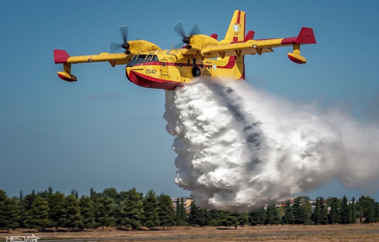 Обои амфибия, Bombardier, Самолёт, Вода. Авиация foto 8