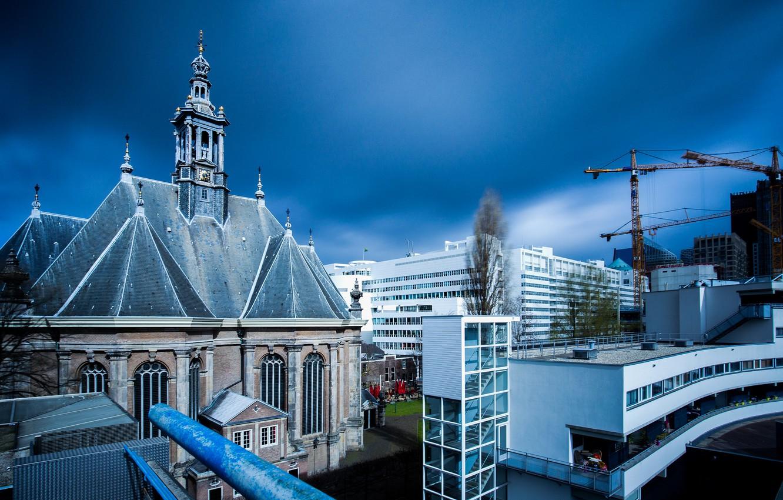 Фото обои Нидерланды, Голландия, Гаага