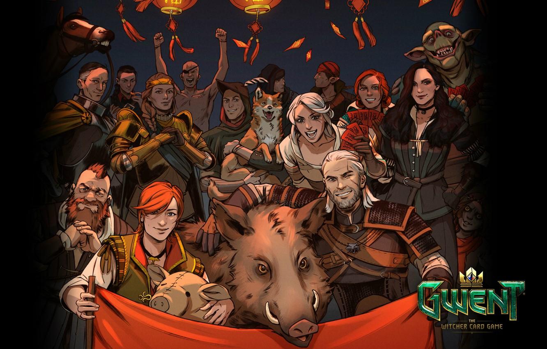 Фото обои карты, the witcher, ведьмак, персонажи, Геральт, Золтан, CDProjekt RED, Цири, Йеннифэр, Трисс, Шани, Gwent, Гвинт, …