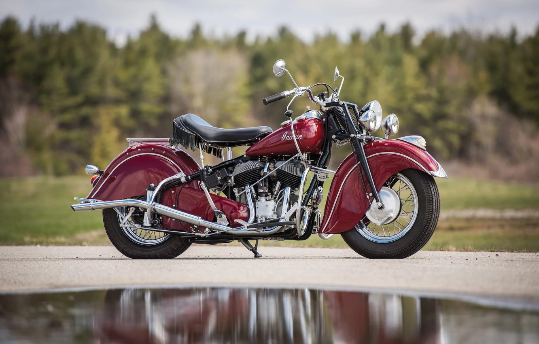 Фото обои Indian, Motorbike, Chief