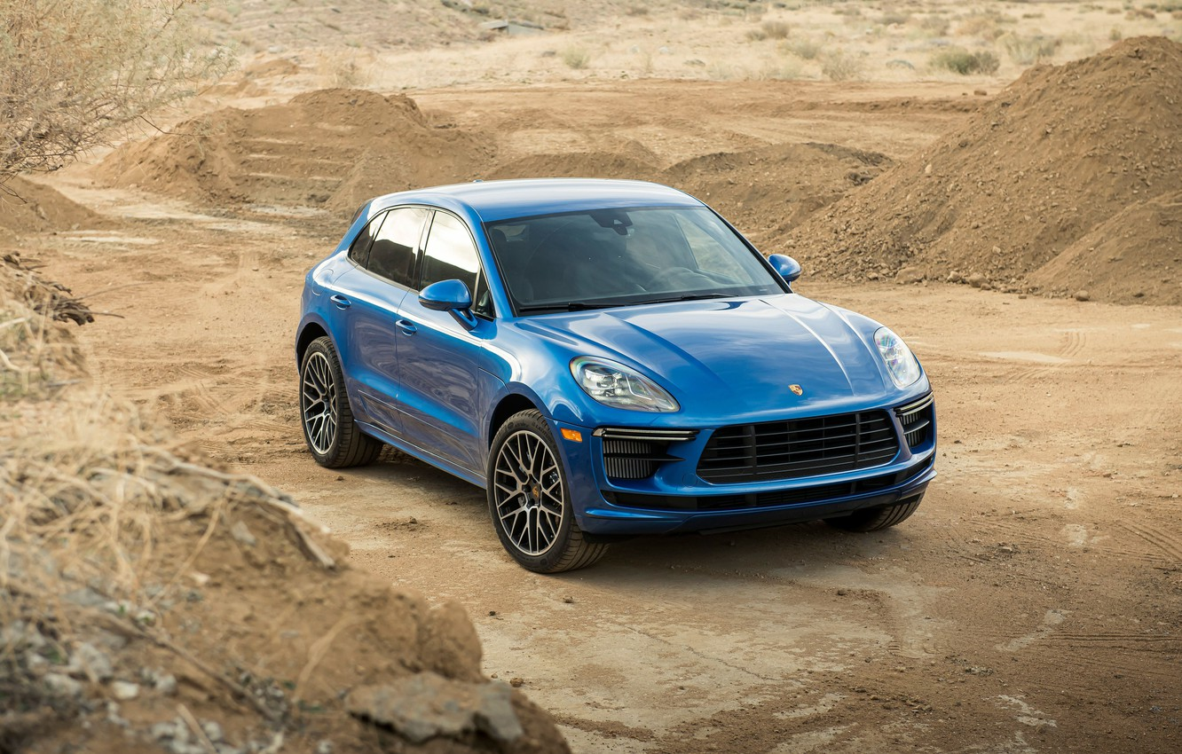 Фото обои Porsche, Turbo, Macan, 2020