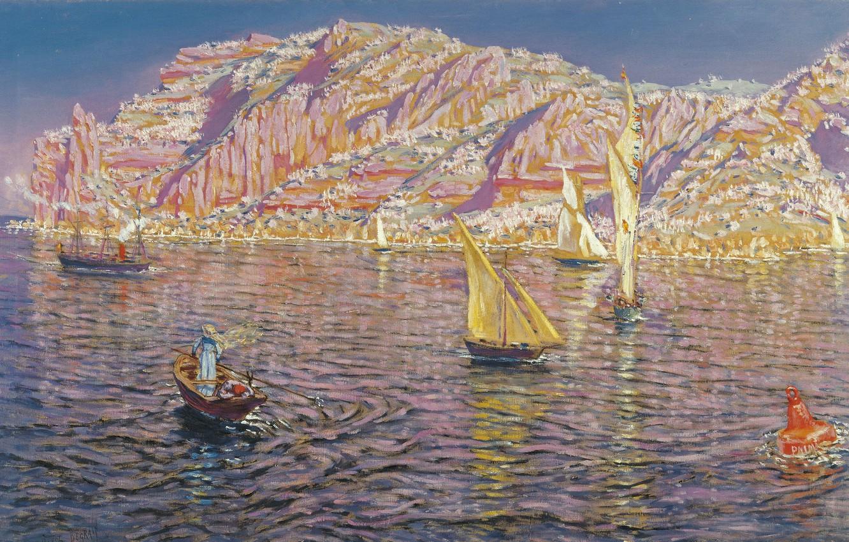 Фото обои Малага, Malaga, Spanish painter, испанский живописец, oil on canvas, Carmen Thyssen Museum, Музей Кармен Тиссен, …