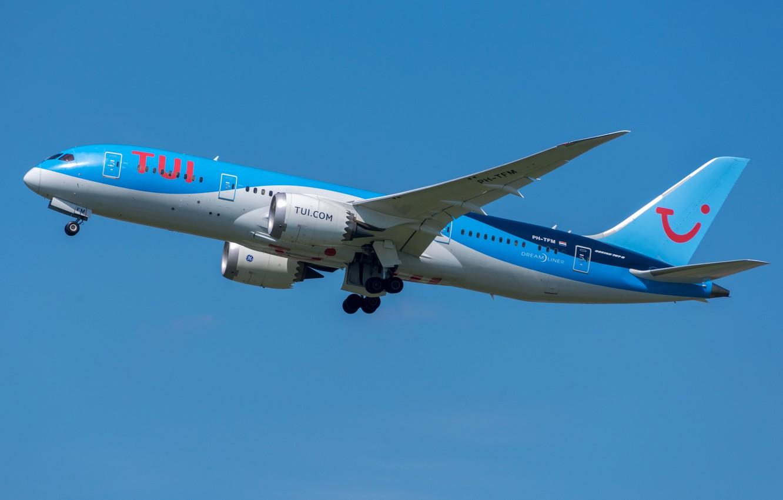 Фото обои Boeing, 787-8, TUI Airlines