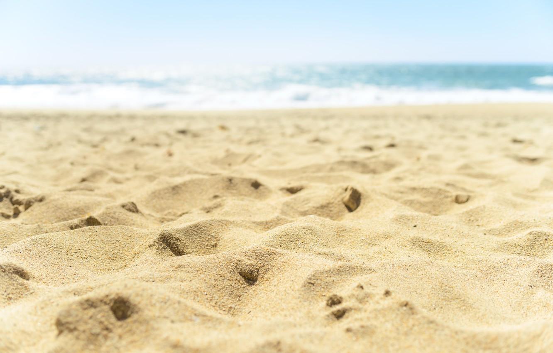 Фото обои песок, море, волны, пляж, лето, summer, beach, sea, blue, seascape, sand, wave