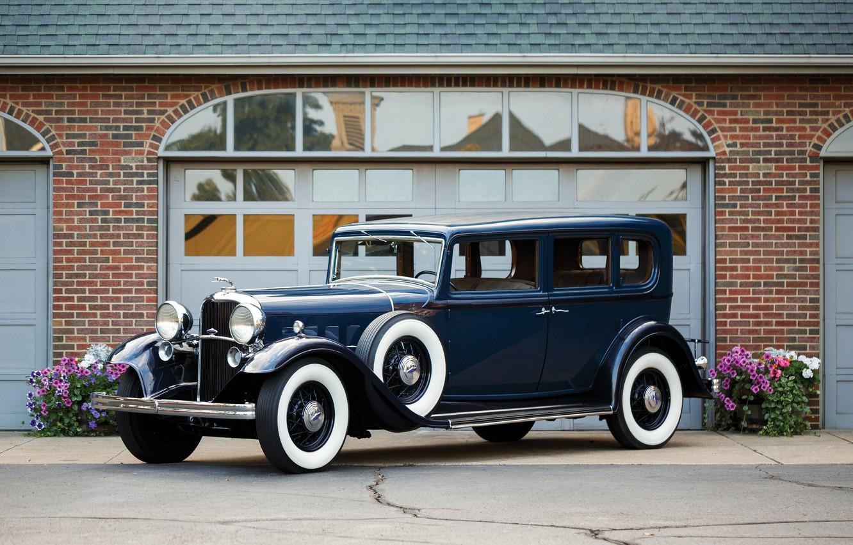 Фото обои авто, Lincoln, ретро, 1932, KB 5-passenger