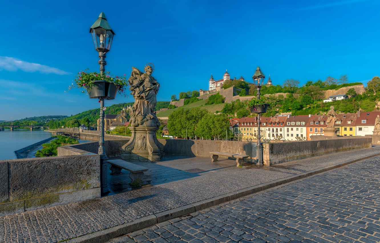 Обои германия, Würzburg, deutschland, вюрцбург. Города foto 10