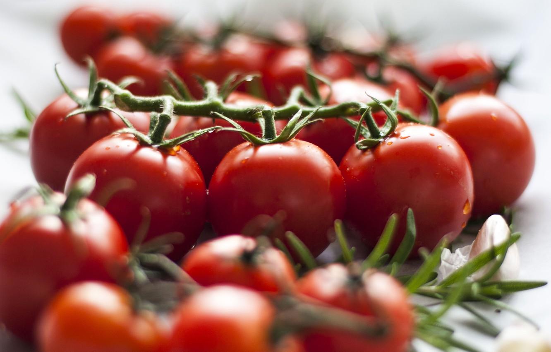 Обои makro, помидоры, еда, овощи, капли, стол. Еда foto 8