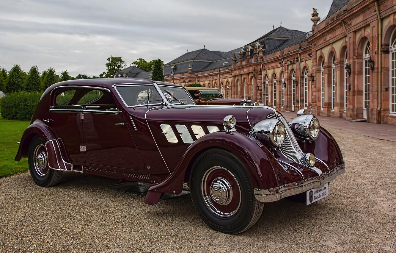 Фото обои авто, ретро, 1932, Röhr, Olympier