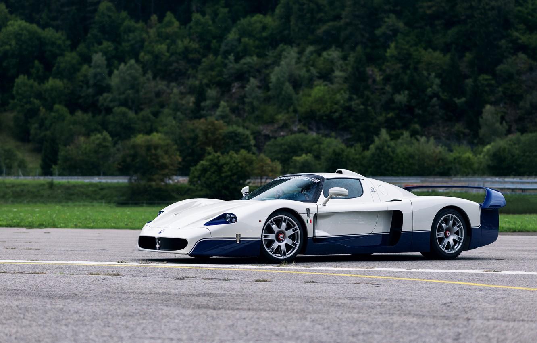 Фото обои Supercar, Итальянский автомобиль, Maseratti MC12