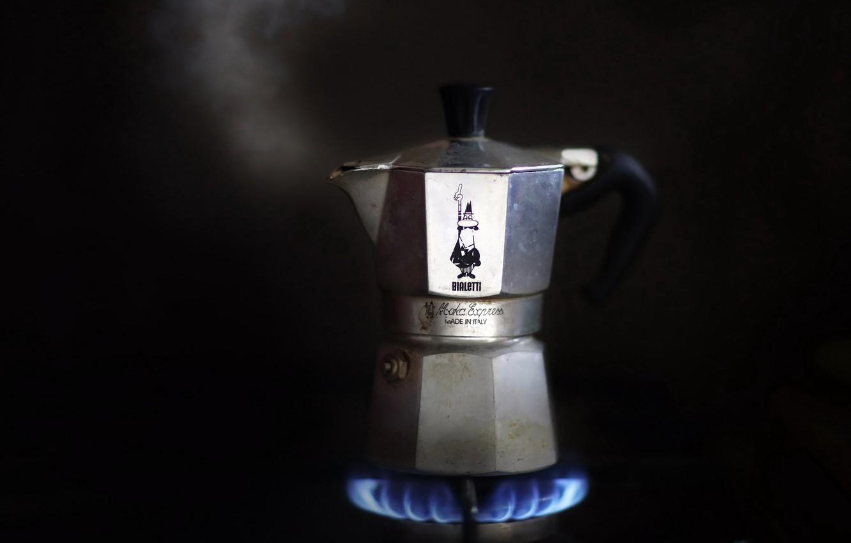 Фото обои фон, кофеварка, примус