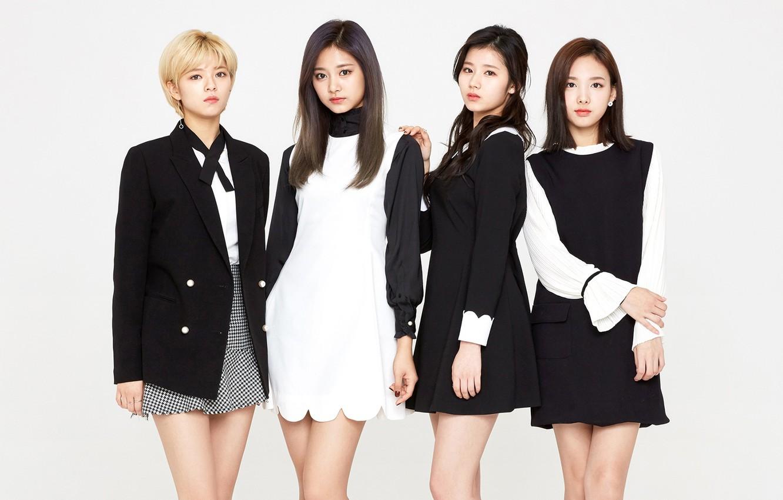 Фото обои Music, Girls, Kpop, Twice, Nayeon, Sana, Tzuyu, Jungyeon