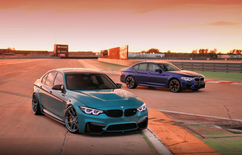Фото обои BMW, Light, Blue, F80, LED, F90