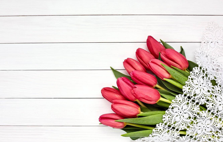 Фото обои цветы, букет, тюльпаны, розовые, fresh, pink, flowers, beautiful, romantic, tulips, spring
