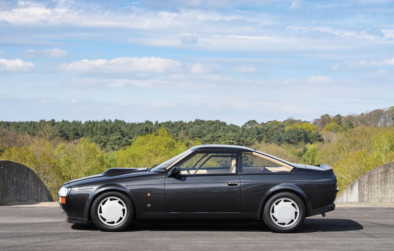 Фото обои вид сбоку, Aston Martin V8 Vantage Zagato, британский автомобиль