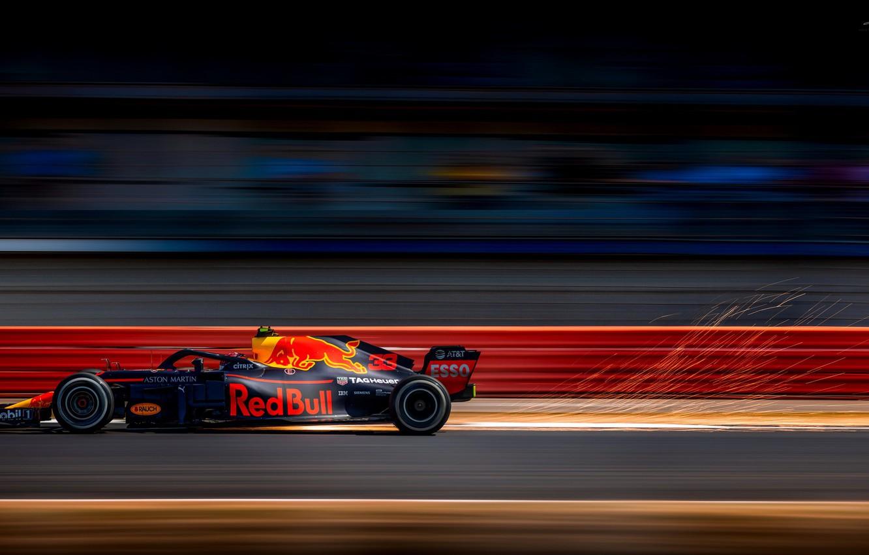 Фото обои Red Bull, Silverstone, Max Verstappen, British Grand Prix 2018