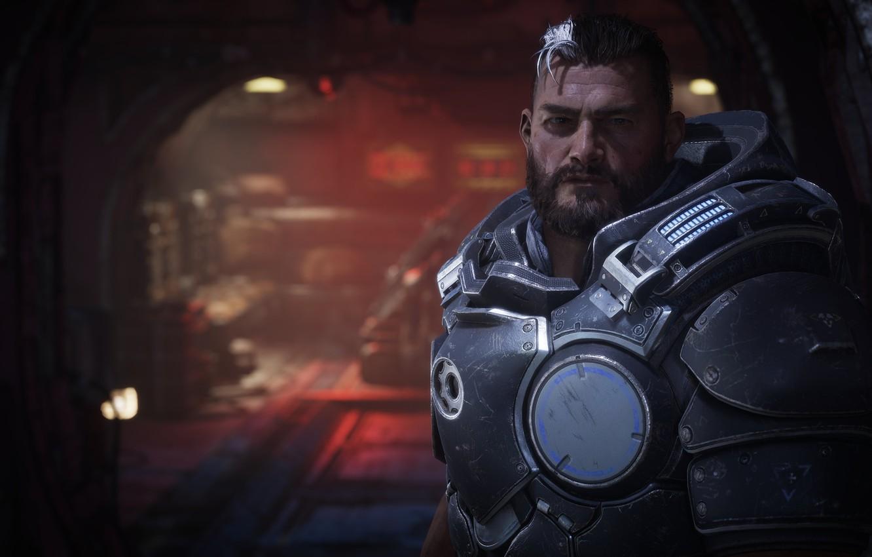 Фото обои gears of war, games, microsoft game studios, gears tactics, гейб диаз, gabe diaz