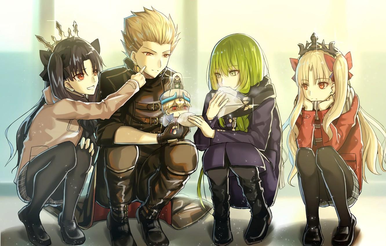 Фото обои арт, персонажи, Fate / Grand Order, Судьба великая кампания