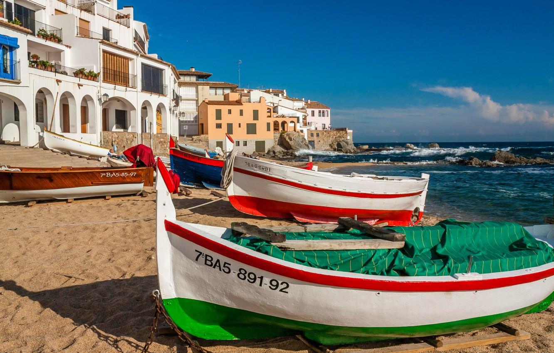 фото испанских морских берегов начале