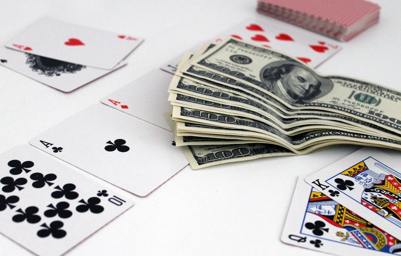 Фото обои карты, деньги, покер, казино