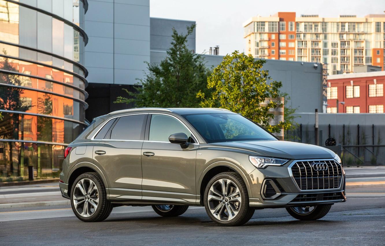 Фото обои Audi, quattro, TFSI, S line, Q3, 2019
