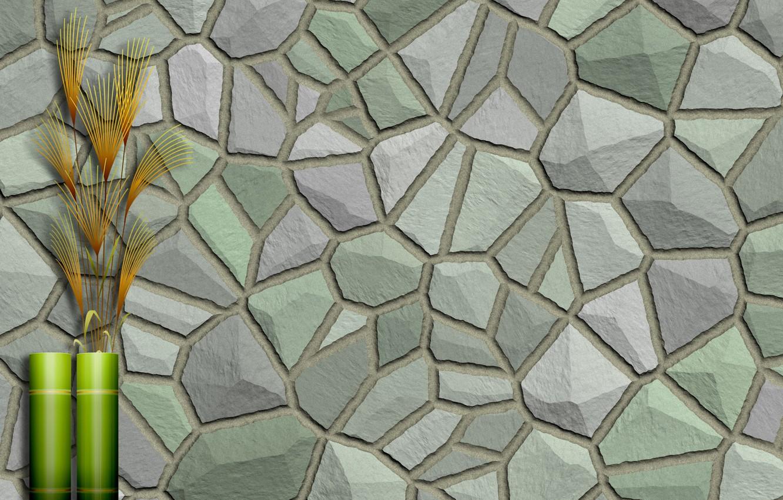 Фото обои камни, фон, стена