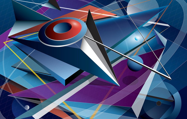 Обои фон, форма, Цвет. Абстракции foto 16