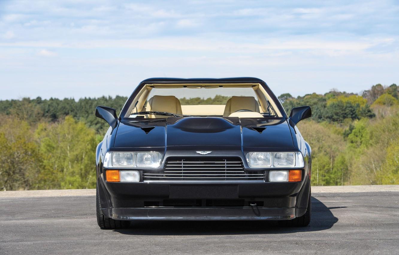 Фото обои вид спереди, Купе, Aston Martin V8 Vantage Zagato