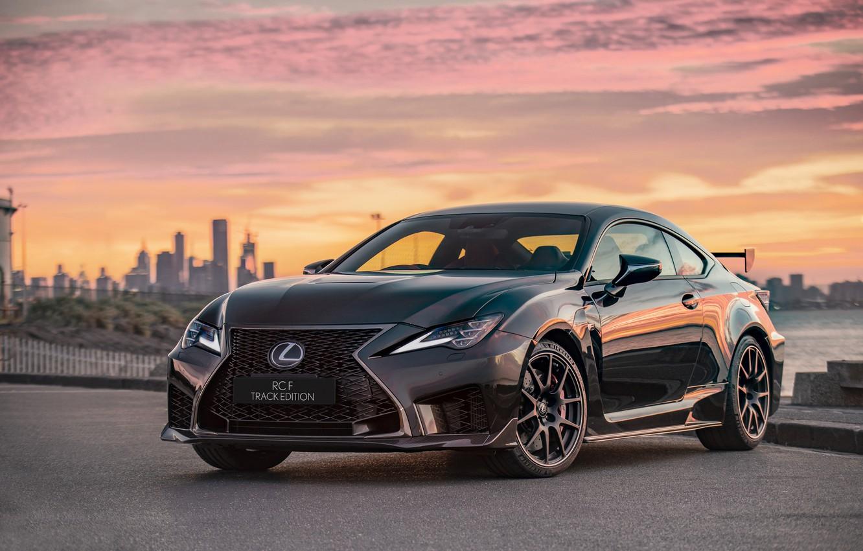 Фото обои Lexus, Track Edition, RC F, 2019