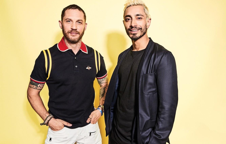 Фото обои мужчины, Tom Hardy, Riz Ahmed