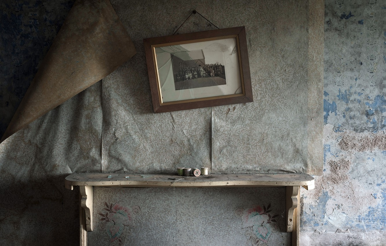 Фото обои комната, стена, натурализм