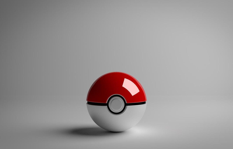 Фото обои шар, покемон, pokemon, pokeball, прокебол