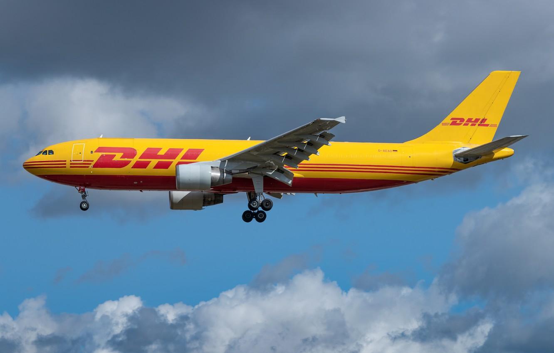 Фото обои Airbus, A300-600F, EAT Leipzig