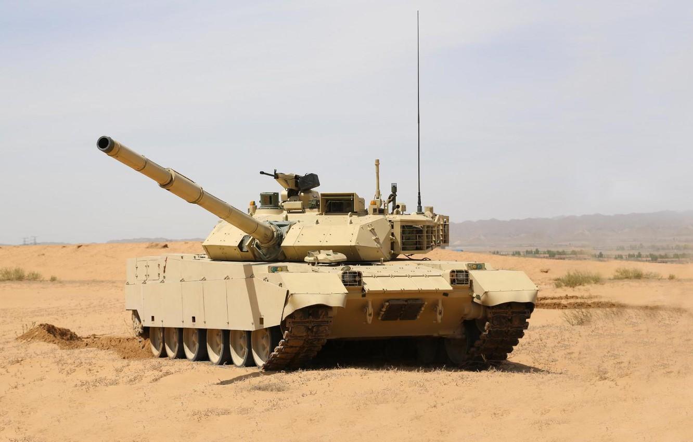 Фото обои боевой танк КНР, MBT-3000, VT-4