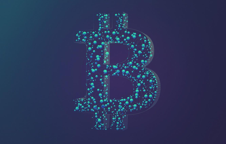Фото обои лого, logo, fon, bitcoin, биткоин