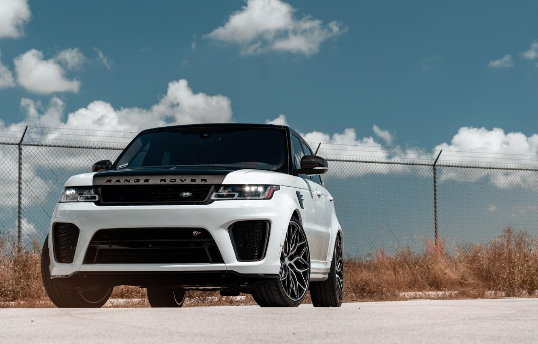 Фото обои Land Rover, Range Rover, Sport, Vossen, Sight, SVR