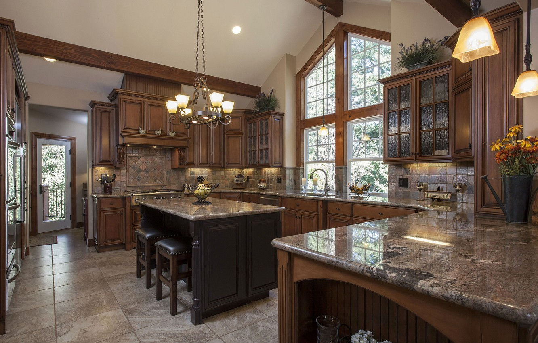 Фото обои комната, интерьер, кухня