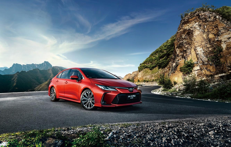 Фото обои Toyota, Sport, Sedan, Corolla, 2019